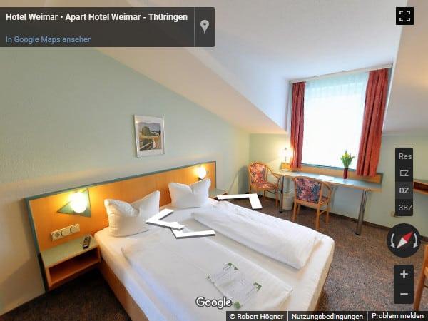 360 Grad Doppelzimmer